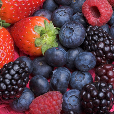 fruit and berries