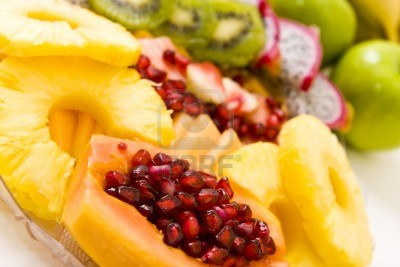 pineapple and papaya 1