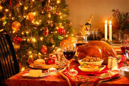 christmas table GI