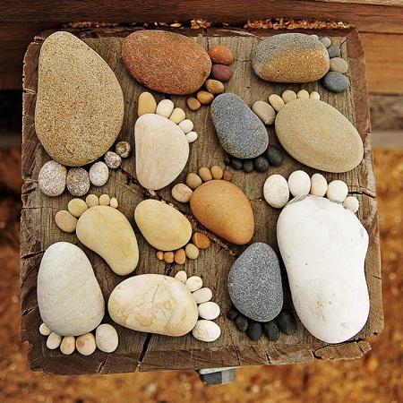 Ideas para Decorar con Piedras1