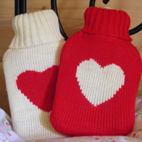 mini heart hot water bottle-500x500