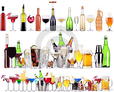 Алкохолът, разреден с диетични безалкохолни напитки напива повече