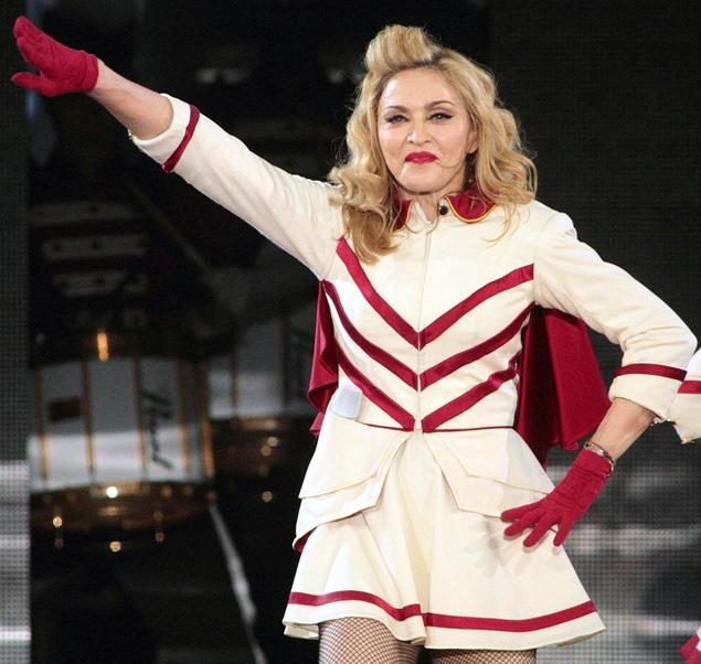 Мадона измести Спрингстийн за 2012