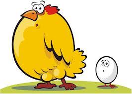 Дилемата 'кокошката или яйцето' най-накрая решена!