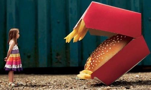 Децата зарибявани от хранителните компании да затлъстяват