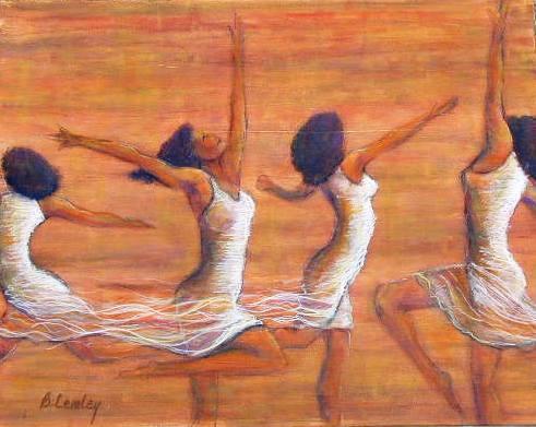 Жените излизат с танци от депресията