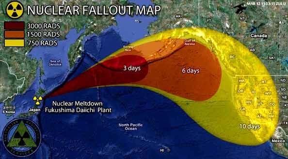 Фукушима в свободно падане, достатъчно далече ли е Япония… от Земята