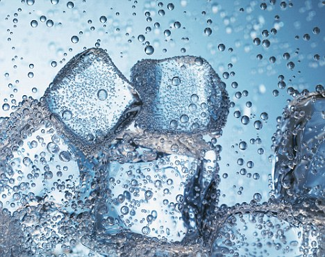 Ice Cubes and Bubbles