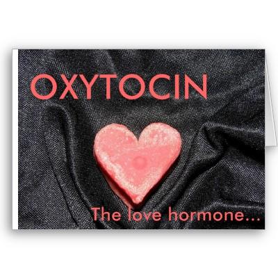 Вълнуващият цикъл на близостта, окситоцин