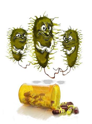 Резистентните бактерии и употребата на антибиотици