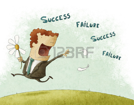 daisy 26599695-businessman-running-and-pull-the-failure-and-success-petals-off-a-daisy