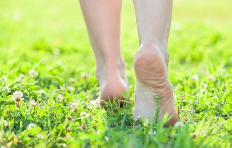 grounding feet