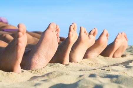 14 предупредителни знака в ноктите на краката