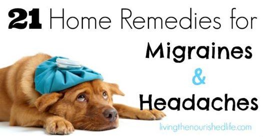 21 домашни лека при главoболие