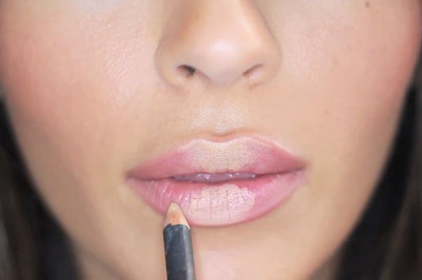 lips and gloss