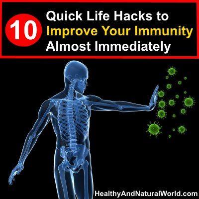 Подобрете имунитета си почти незабавно, 10 бързи промени в начина на живот