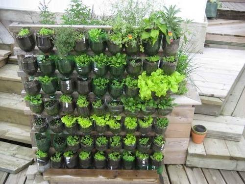 Направете си вертикална градина на балкона