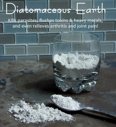 Диатомит: Пръстта, която се яде и 5+ причини да го правите