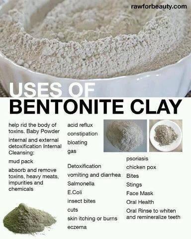 Великолепната за здравето бентонитна глина, ползи и практически употреби