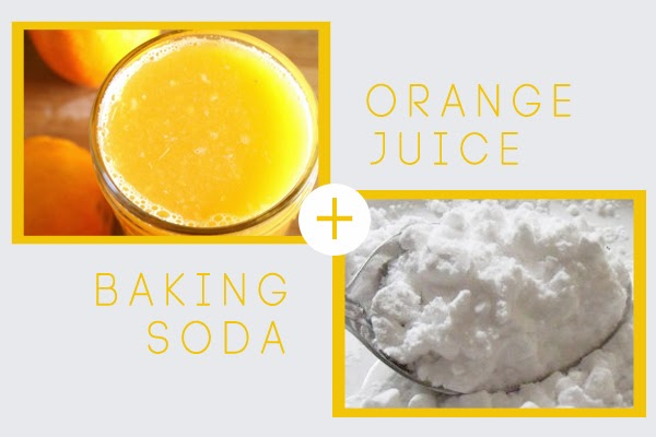orange and soda