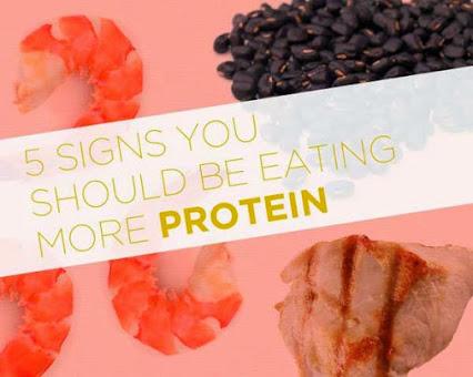5 признака че трябва да ядете повече протеин