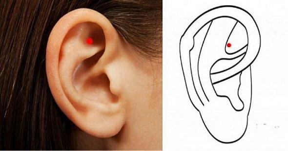Открийте невероятните ползи от масажирането на тази точка в ухото