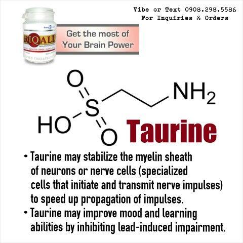 Таурин, чудотворната за здравето аминокиселина
