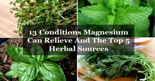 Вижте кои заболявания лекува магнезият и най-добрите 5 билкови източника