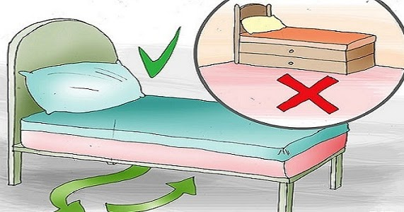 Магичното правило във фън шуй за пространството под леглото