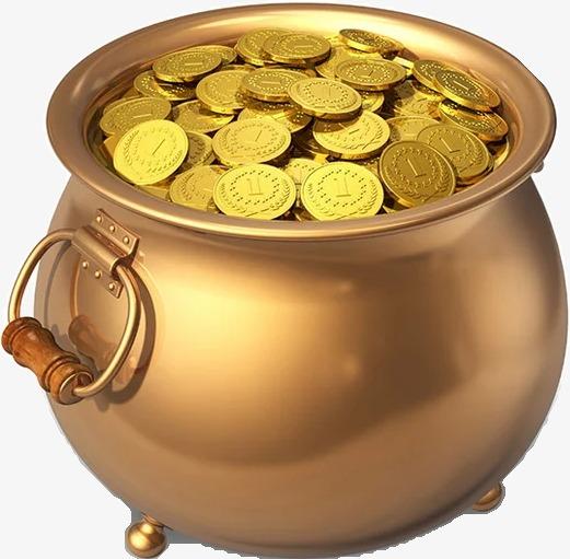 feng-shui-pot-coins