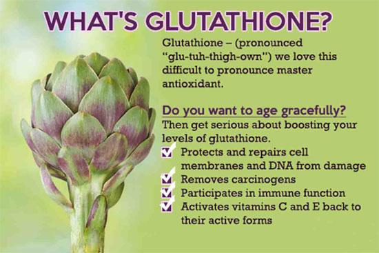 glutathione-aging