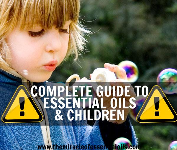 Етеричните масла и децата – кое е безопасно и кое не е