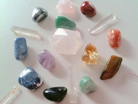 Тайните на лечението с кристали, пълен указател